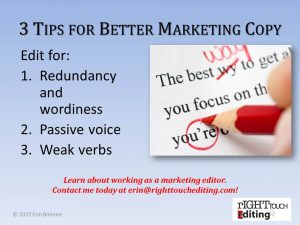 3 Tips for Better Marketing Copy