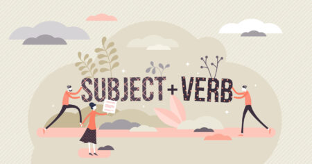 Subject + Verb